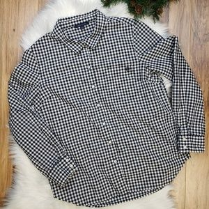Tommy Hilfiger Button Down Mini Buffalo Plaid